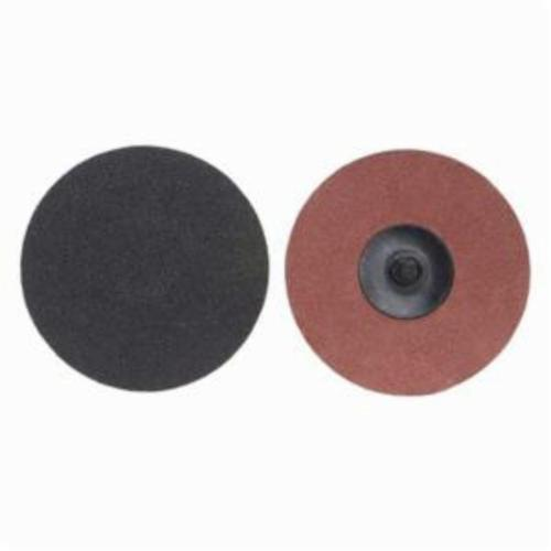 Merit® PowerLock® 08834164277 Coated Abrasive Quick-Change Disc, 3 in Dia, 40 Grit, Extra Coarse Grade, Silicon Carbide Abrasive, Type TR (Type III) Attachment