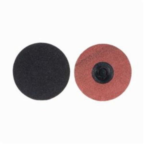 Merit® PowerLock® 08834164971 Coated Abrasive Quick-Change Disc, 3 in Dia, 180 Grit, Fine Grade, Silicon Carbide Abrasive, Type TP (Type I) Attachment