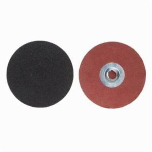 Merit® PowerLock® 08834165254 Coated Abrasive Quick-Change Disc, 2 in Dia, 60 Grit, Coarse Grade, Silicon Carbide Abrasive, Type TS (Type II) Attachment