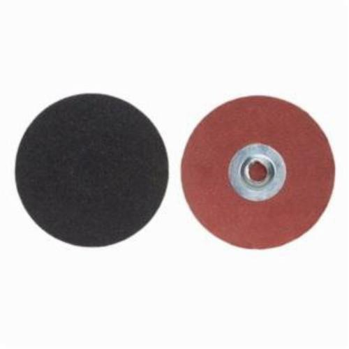 Merit® PowerLock® 08834165255 Coated Abrasive Quick-Change Disc, 2 in Dia, 80 Grit, Coarse Grade, Silicon Carbide Abrasive, Type TS (Type II) Attachment