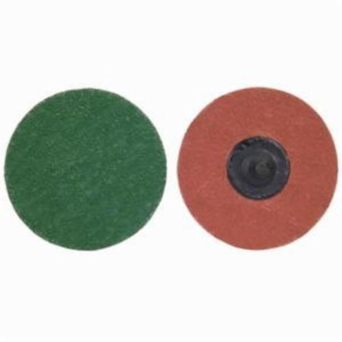 Norton® Merit® 08834166046 SG F944 Zenith Heavy Duty Quick-Change Coated Abrasive Disc, 2 in Dia, 120 Grit, Fine Grade, Ceramic Alumina Abrasive, Type TR (Type III) Attachment