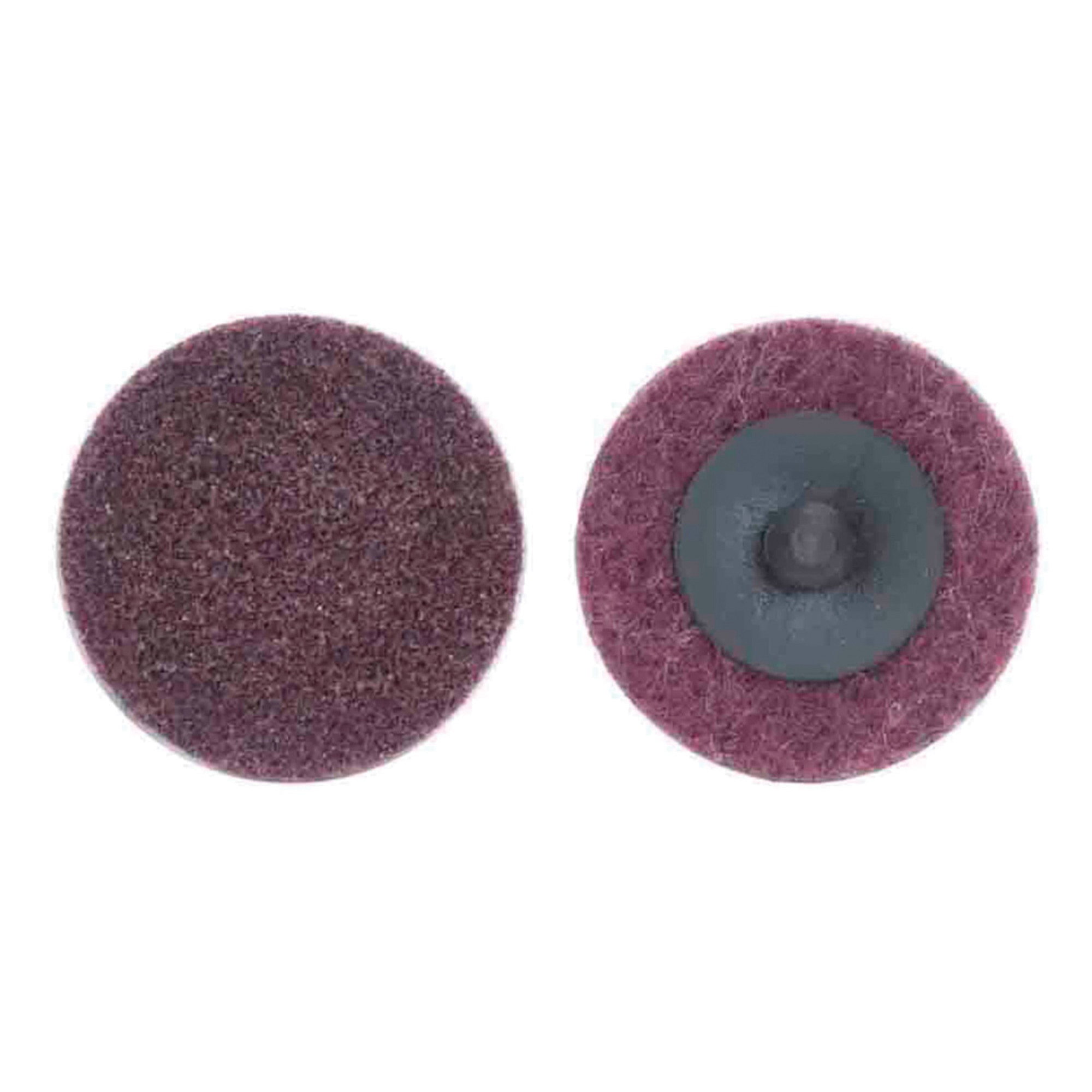 Merit® 08834166290 Non-Woven Abrasive Quick-Change Disc, 2 in Dia, 80 Grit, Medium Grade, Aluminum Oxide Abrasive, Type TR (Type III) Attachment