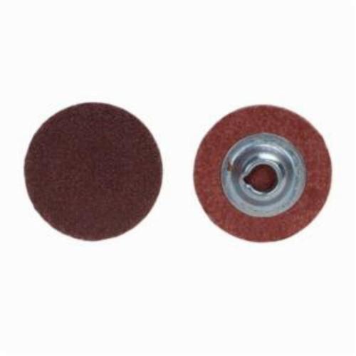 Norton® Merit® PowerLock® 08834166912 ALO Plus Coated Abrasive Quick-Change Disc, 3 in Dia, 40 Grit, Extra Coarse Grade, Aluminum Oxide Abrasive, Type TS (Type II) Attachment