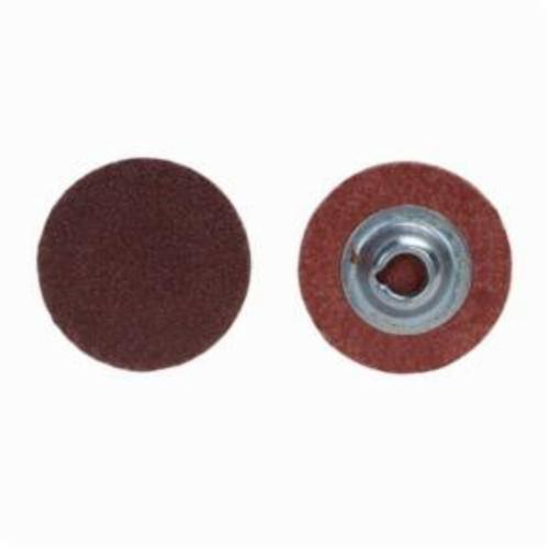 Merit® PowerLock® 08834166914 ALO Plus Coated Abrasive Quick-Change Disc, 3 in Dia, 60 Grit, Coarse Grade, Aluminum Oxide Abrasive, Type TS (Type II) Attachment