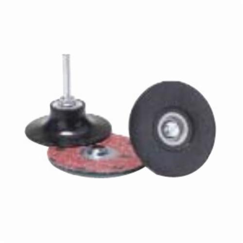 Merit® PowerLock® FlexEdge™ 08834166959 ALO Flexible Coated Abrasive Quick-Change Disc, 2 in Dia, 100 Grit, Medium Grade, Aluminum Oxide Abrasive, Type TS (Type II) Attachment