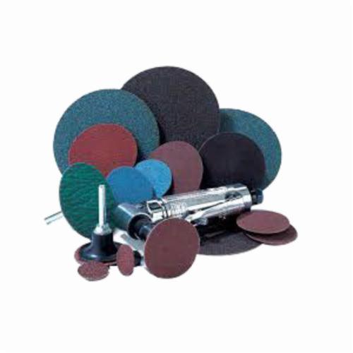Merit® PowerLock® FlexEdge™ 08834166974 ALO Flexible Coated Abrasive Quick-Change Disc, 3 in Dia, 100 Grit, Medium Grade, Aluminum Oxide Abrasive, Type TS (Type II) Attachment