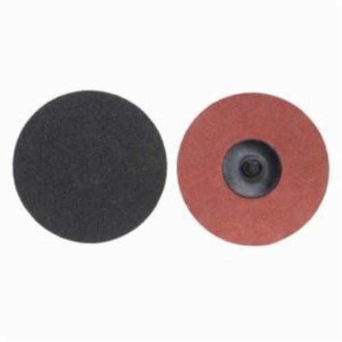Norton® Merit® PowerLock® 08834167313 Coated Abrasive Quick-Change Disc, 2 in Dia, 180 Grit, Fine Grade, Silicon Carbide Abrasive, Type TR (Type III) Attachment