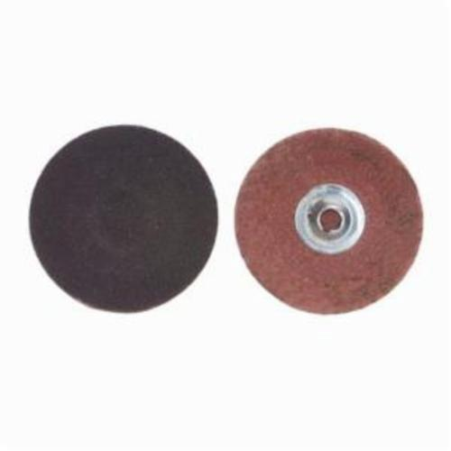 Merit® PowerLock® FlexEdge™ 08834167333 ALO Flexible Coated Abrasive Quick-Change Disc, 1-1/2 in Dia, 60 Grit, Coarse Grade, Aluminum Oxide Abrasive, Type TS (Type II) Attachment