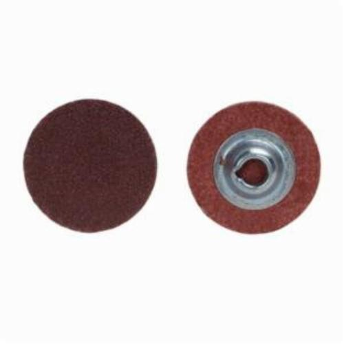 Merit® PowerLock® 08834167464 ALO Plus Coated Abrasive Quick-Change Disc, 3/4 in Dia, 50 Grit, Coarse Grade, Aluminum Oxide Abrasive, Type TS (Type II) Attachment
