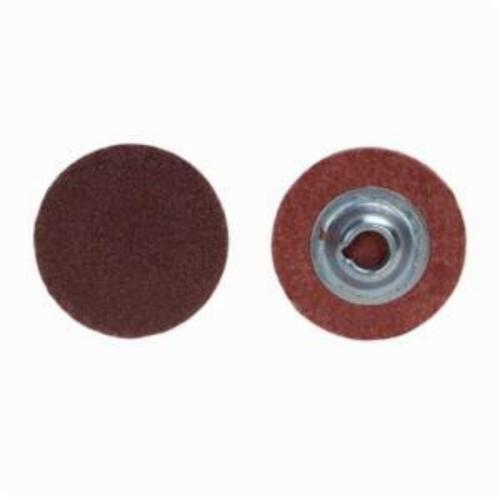 Merit® PowerLock® 08834167466 ALO Plus Coated Abrasive Quick-Change Disc, 3/4 in Dia, 80 Grit, Coarse Grade, Aluminum Oxide Abrasive, Type TS (Type II) Attachment