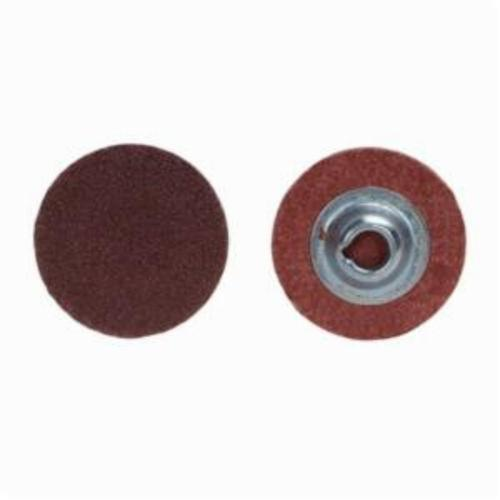 Merit® PowerLock® 08834167468 ALO Plus Coated Abrasive Quick-Change Disc, 3/4 in Dia, 120 Grit, Medium Grade, Aluminum Oxide Abrasive, Type TS (Type II) Attachment