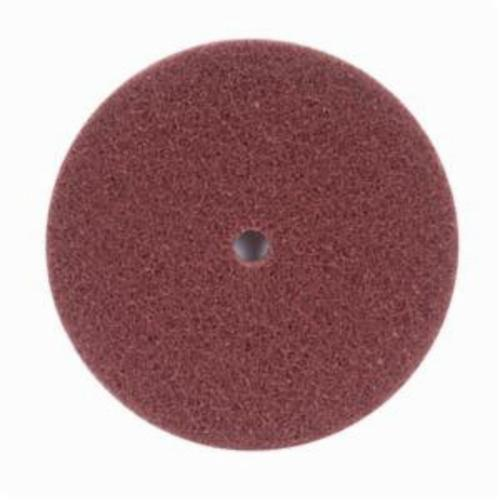 Norton® Merit® High Strength 08834167735 Non-Woven Abrasive Disc, 6 in Dia x 1/2 in THK, Aluminum Oxide, Fine Grade