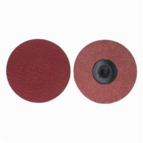 Merit® PowerLock® 08834168178 Ultra Ceramic Plus Coated Abrasive Quick-Change Disc, 3 in Dia, 80 Grit, Coarse Grade, Ceramic Alumina Abrasive, Type TR (Type III) Attachment