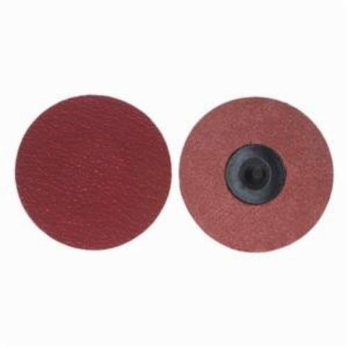 Norton® Merit® PowerLock® 08834168657 Ultra Ceramic Plus Coated Abrasive Quick-Change Disc, 2 in Dia, 120 Grit, Medium Grade, Ceramic Alumina Abrasive, Type TR (Type III) Attachment