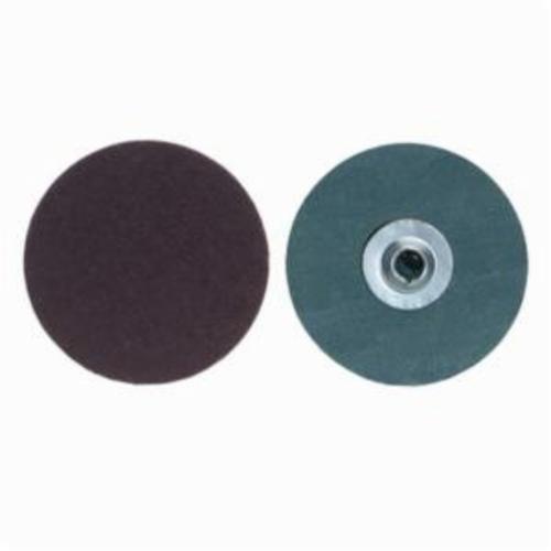 Merit® PowerLock® fx 08834168882 Flexible Coated Abrasive Quick-Change Disc, 1-1/2 in Dia, 24 Grit, Extra Coarse Grade, Aluminum Oxide Abrasive, Type TS (Type II) Attachment