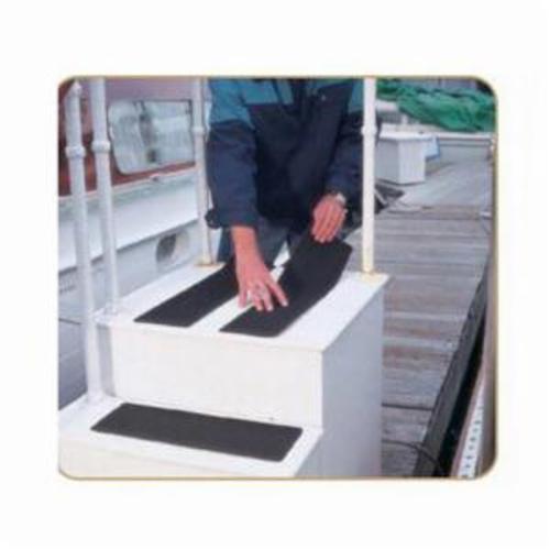 Merit® ShurStik™ 08834171002 Pre-Cut Safety Tread Cover, 3/4 in W, Aluminum Oxide