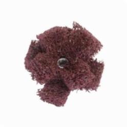 Merit® 08834189306 Eyelet Cross Buff, 1-1/2 in Dia, Medium Grade, 2 Plys, 1/2 in W Face