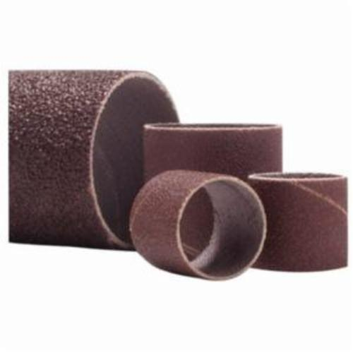 Merit® 08834196514 Coated Spiral Band, 2 in Dia x 1-1/2 in L, 40 Grit, Extra Coarse Grade, Aluminum Oxide Abrasive