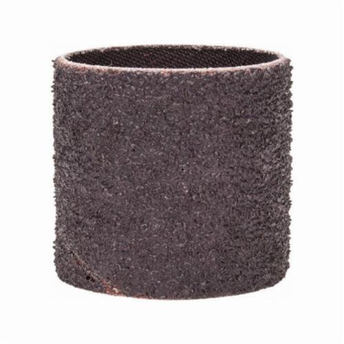 Norton® Merit® 08834196164 Coated Spiral Band, 1-1/2 in Dia x 1-1/2 in L, 36 Grit, Extra Coarse Grade, Aluminum Oxide Abrasive