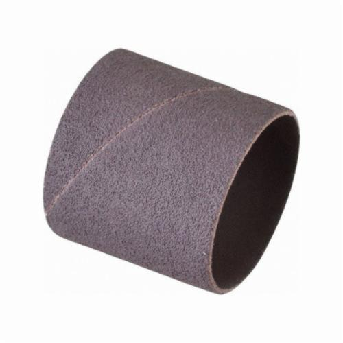 Norton® Merit® 08834196173 Coated Spiral Band, 2 in Dia x 2 in L, 60 Grit, Coarse Grade, Aluminum Oxide Abrasive