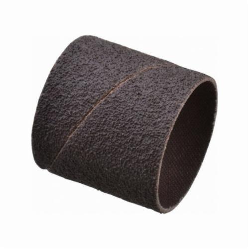 Norton® Merit® 08834196176 Coated Spiral Band, 1-1/2 in Dia x 1-1/2 in L, 50 Grit, Coarse Grade, Aluminum Oxide Abrasive
