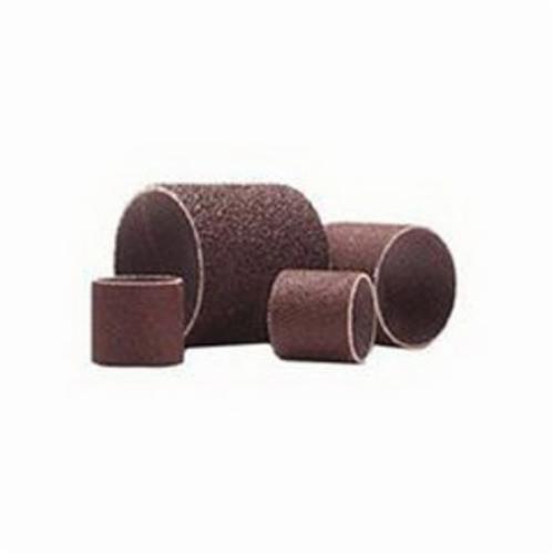 Merit® 08834196186 Coated Spiral Band, 2 in Dia x 1 in L, 50 Grit, Coarse Grade, Aluminum Oxide Abrasive