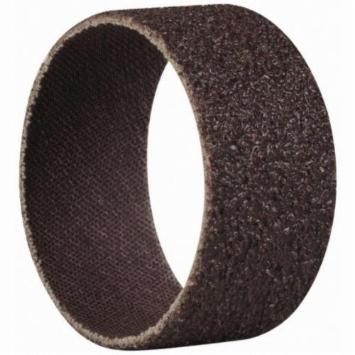 Norton® Merit® 08834196233 Coated Spiral Band, 2 in Dia x 1 in L, 36 Grit, Extra Coarse Grade, Aluminum Oxide Abrasive
