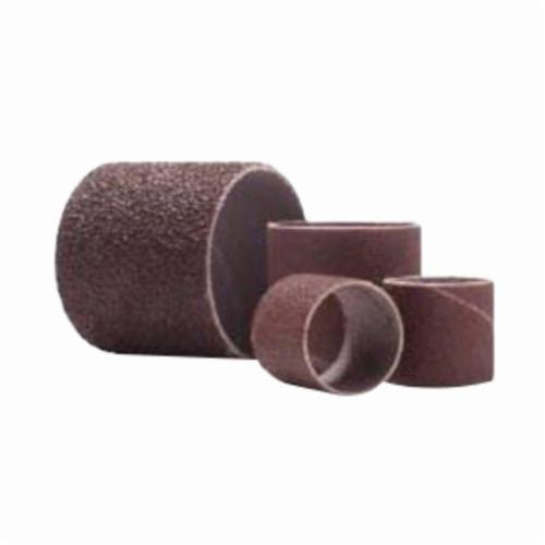 Merit® 08834196238 Coated Spiral Band, 3/4 in Dia x 1-1/2 in L, 36 Grit, Extra Coarse Grade, Aluminum Oxide Abrasive