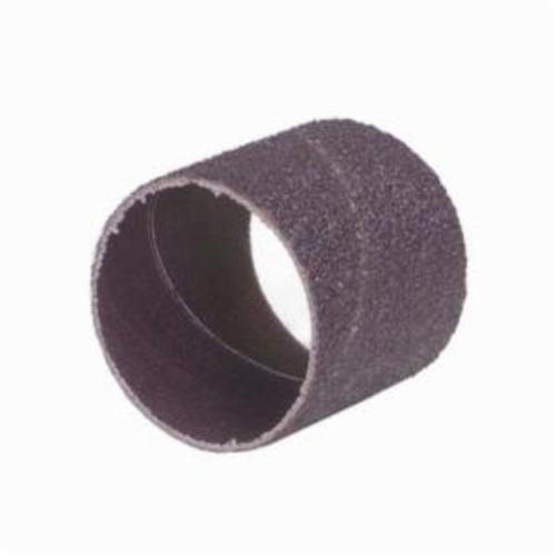 Merit® 08834196262 Coated Spiral Band, 3 in Dia x 3 in L, 36 Grit, Extra Coarse Grade, Aluminum Oxide Abrasive