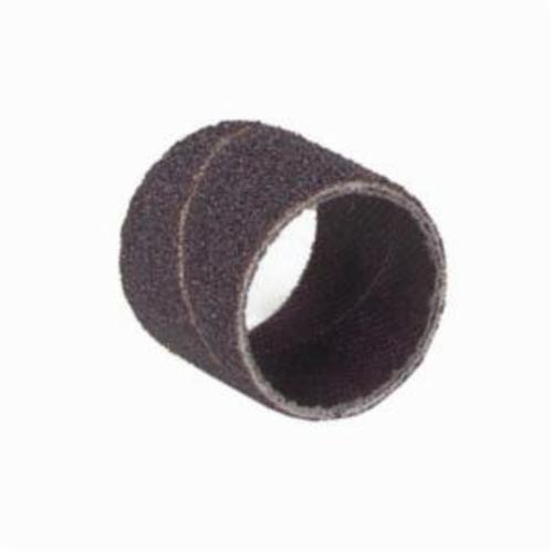 Norton® Merit® 08834196490 Coated Spiral Band, 1/4 in Dia x 1/2 in L, 180 Grit, Fine Grade, Aluminum Oxide Abrasive