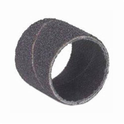 Merit® 08834196504 Coated Spiral Band, 3/8 in Dia x 1/2 in L, 180 Grit, Fine Grade, Aluminum Oxide Abrasive