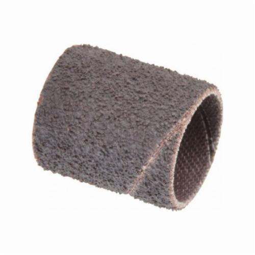 Norton® Merit® 08834196515 Coated Spiral Band, 3/4 in Dia x 1 in L, 50 Grit, Coarse Grade, Aluminum Oxide Abrasive