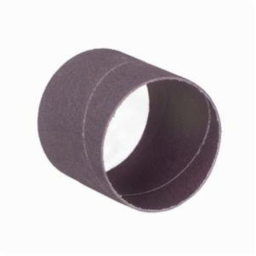 Merit® 08834196524 Coated Spiral Band, 3 in Dia x 1 in L, 80 Grit, Coarse Grade, Aluminum Oxide Abrasive