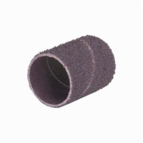 Norton® Merit® 08834196525 Coated Spiral Band, 1 in Dia x 1-1/2 in L, 36 Grit, Extra Coarse Grade, Aluminum Oxide Abrasive