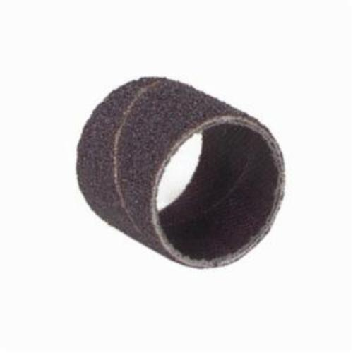 Norton® Merit® 08834196591 Coated Spiral Band, 1/2 in Dia x 1 in L, 36 Grit, Extra Coarse Grade, Aluminum Oxide Abrasive
