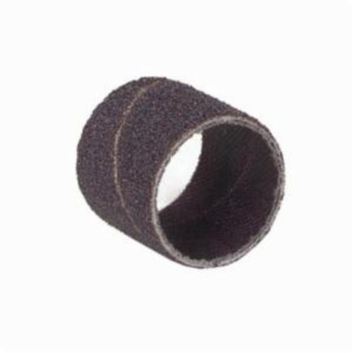Merit® 08834196614 Coated Spiral Band, 1/4 in Dia x 1/2 in L, 40 Grit, Extra Coarse Grade, Aluminum Oxide Abrasive