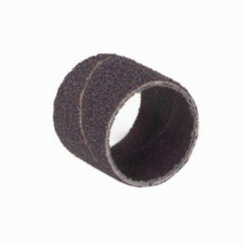 Merit® 08834196619 Coated Spiral Band, 1/2 in Dia x 1/2 in L, 36 Grit, Extra Coarse Grade, Aluminum Oxide Abrasive