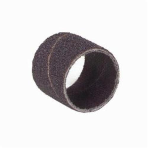 Norton® Merit® 08834196645 Coated Spiral Band, 3/8 in Dia x 1 in L, 80 Grit, Coarse Grade, Aluminum Oxide Abrasive