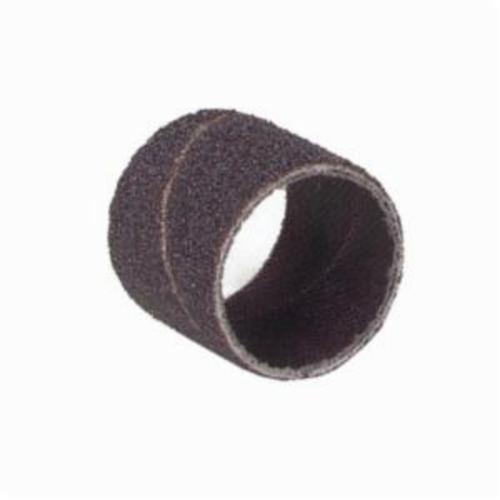 Merit® 08834196734 Coated Spiral Band, 1/4 in Dia x 1 in L, 100 Grit, Medium Grade, Aluminum Oxide Abrasive
