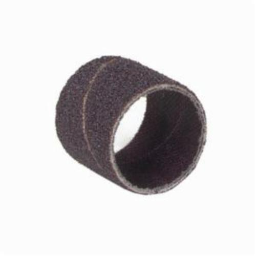 Merit® 08834196769 Coated Spiral Band, 3/4 in Dia x 1/2 in L, 36 Grit, Extra Coarse Grade, Aluminum Oxide Abrasive