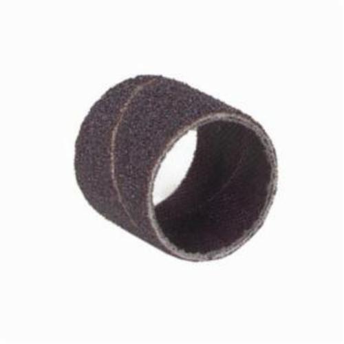 Merit® 08834196806 Coated Spiral Band, 3/4 in Dia x 1/2 in L, 320 Grit, Extra Fine Grade, Aluminum Oxide Abrasive