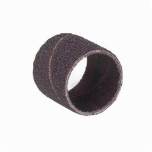 Merit® 08834196830 Coated Spiral Band, 3/8 in Dia x 1/2 in L, 320 Grit, Extra Fine Grade, Aluminum Oxide Abrasive