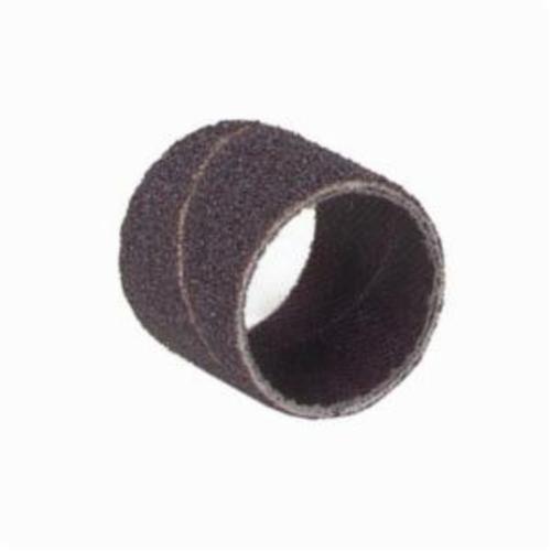 Norton® Merit® 08834197116 Coated Spiral Band, 3/4 in Dia x 1/2 in L, 180 Grit, Fine Grade, Aluminum Oxide Abrasive