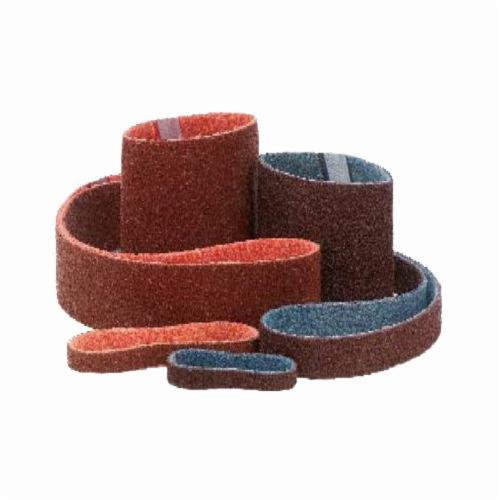 Merit® Abrasotex™ 08834198035 Type AG Surface Conditioning Non-Woven Abrasive Belt, 1 in W x 18 in L, Medium Grade, Aluminum Oxide Abrasive