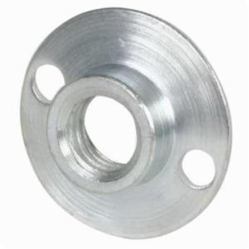 Merit® 63642543463 Round Base Retainer Nut, For Use With 4 to 9 in Rubber Back-Up Pad, Steel