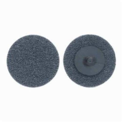 Norton® Merit® Bear-Tex® 66261054184 Button Mount Non-Woven Unitized Wheel, 2 in Dia, 1/4 in W Face, Fine Grade, Silicon Carbide Abrasive