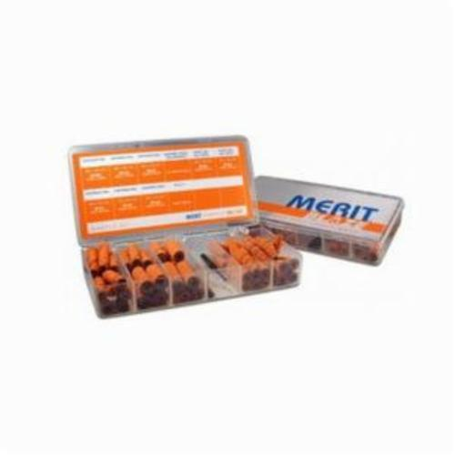 Merit® Blaze® 66261066726 Coated Cartridge Roll Kit, Ceramic Alumina Abrasive