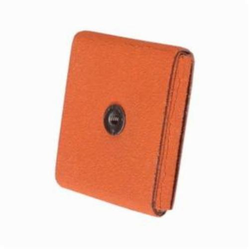 Merit® Blaze® 66261194528 Supersized Coated Square Pad, 3 in L x 3 in W x 1/2 in THK, 1/4-20 Eyelet Thread, 60 Grit