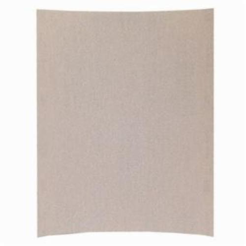 Norton® Merit® No-Fil® Sand-O-Flex™ 66623311870 PB273 Coated Abrasive Sheet, 11 in L x 9 in W, P400 Grit, Super Fine Grade, Aluminum Oxide Abrasive, Anti-Loading Paper Backing