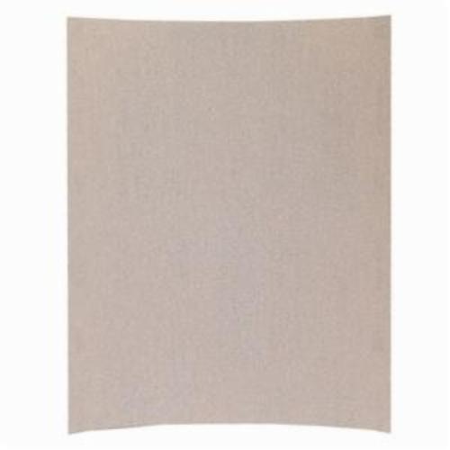 Norton® Merit® No-Fil® Sand-O-Flex™ 66623311871 PB273 Coated Abrasive Sheet, 11 in L x 9 in W, P320 Grit, Extra Fine Grade, Aluminum Oxide Abrasive, Anti-Loading Paper Backing